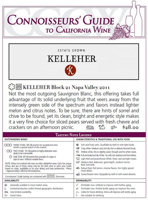 Connoisseur's Guide to California Wine