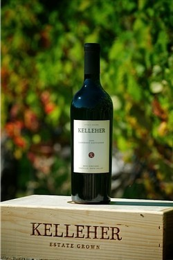 Kelleher Family Vineyard Wood Box