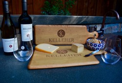 Plank Kelleher Maple Cheese Board