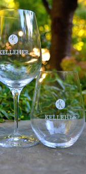 Kelleher Family Vineyard Stemless Wine Glass